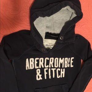 Abercrombie & Fitch Sweatshirt - Navy Blue